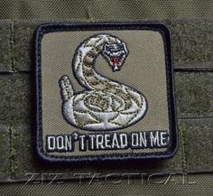 US ARMY MORALE PATCH DON T TREAD ON ME CONTRACTOR OPERATOR MULTI CAM 2.5