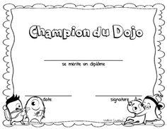 Dojo gestion de classe (French behavior)