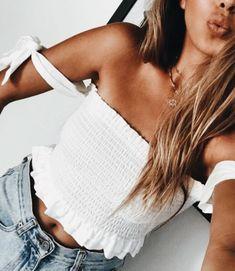 Summer Fashion Inspo || Womens Clothing || All White