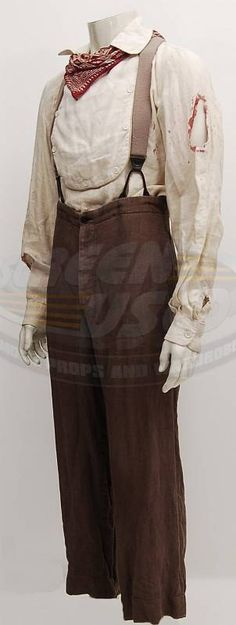 Shanghai Noon.  Jackie Chan costume.  One of the many doubles used on the show.  Jackie took the #1 costume back to Asia with him.  #josephporro