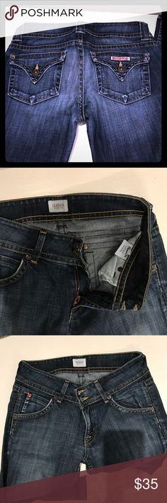 Hudson boot cut size 27 leans Size 27 Hudson boot cut jeans long inseam Jeans Boot Cut