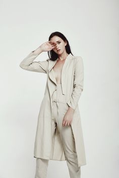 Campaigh for Hannah Lavery Model: MUA: Styling: Production: Photography: Ss 17, Neutral Palette, Classic Outfits, Ethical Fashion, Minimalism, Style Me, Photoshoot, Boutique, Photo And Video