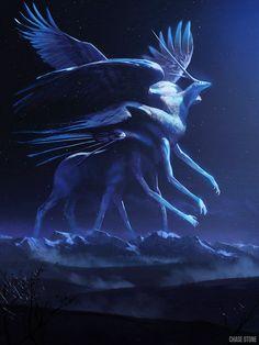 Artist: Chase Stone - Title: Phantom Beast Std - Card: Barnabas, Beast of Logic Monster Art, Monster Concept Art, Fantasy Monster, Monster Design, Mythical Creatures Art, Magical Creatures, Fantasy Creatures, Dark Fantasy Art, Fantasy Artwork