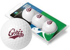 Montana Grizzlies - 3 Golf Ball Sleeve