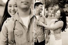 new york central park engagement photos | joanna + billy