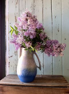 lilac gathered in a country lane