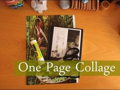 1 Magazine Page = 1 Collage Junk Journal, Journal Ideas, Collage Art, Collages, Composition Books, Glue Book, Mixed Media Journal, Creative Journal, Mix Media