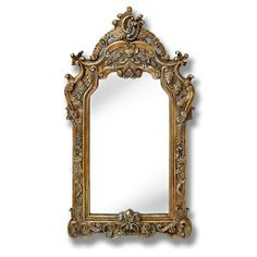 Antique Style Gold Mirror 'Grande' - http://www.sloane-home.co.uk/product/grande-antique-style-gold-mirror/
