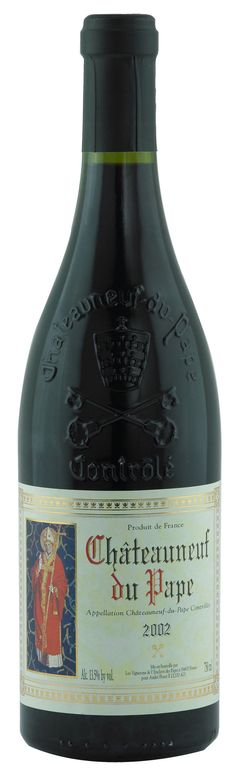 Another favorite! ! !                  Rhone Wine - Chateauneuf Du Pape 2002.