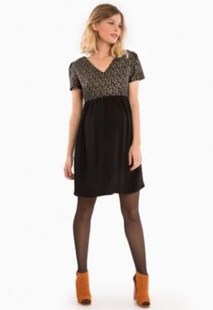 3698165f66c 35 robes de soirée pour femme enceinte hyper stylée! 35 robes de fête de  grossesse