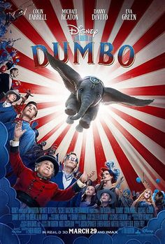 Disney's new live-action feature film Dumbo is directed by Tim Burton and stars Colin Farrell, Danny DeVito, Eva Green and Michael Keaton. The film [. Disney Live, Disney Pixar, Dumbo Disney, Disney Fan, Live Action Disney Movies, Disney Animation, Danny Devito, Lucy Devito, Michael Keaton
