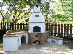 'kemence' (pizza oven) and grill