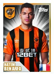 View the Hull City AFC Topps Collection for season and also filter by previous seasons where available, visit the official website of the Premier League. Hatem Ben Arfa, Birmingham City Fc, Hull City, Football Stickers, Pin Pin, Premier League, Vignettes, Soccer, England
