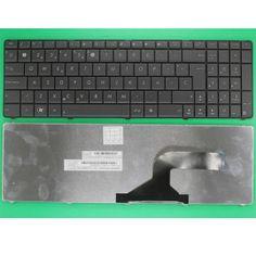 New Genuine ASUS N53 SP Layout Replacement Laptop Keyboard Black  #Mildtrans