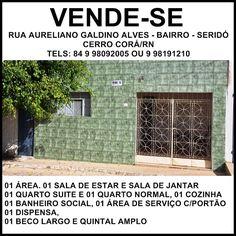 BLOG DJ AILDO: VENDE-SE CASAS EM CERRO CORÁ/RN