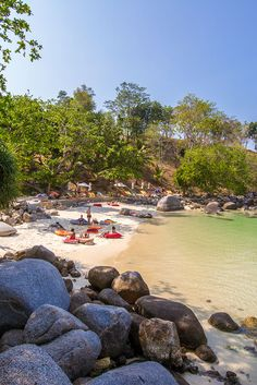 Paradise Beach, near Patong in Phuket, Thailand, is perhaps one of the world's most aptly named places. Krabi Thailand Hotels, Thailand Vacation, Thailand Honeymoon, Visit Thailand, Thailand Travel, Asia Travel, Best Places In Bangkok, Phuket Travel Guide, Beaches In Phuket