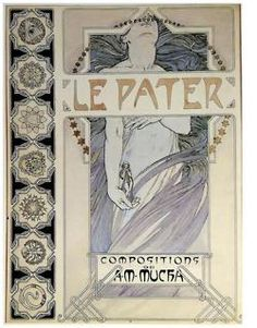 Le Pater, Mucha's occult interpretation of the Lord's Prayer
