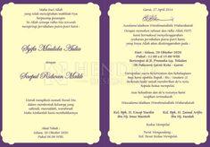 8 Gambar Wedding Invitation Terbaik Wedding Invitations Islam