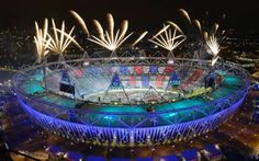 Olympic stadium, Лондон