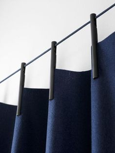 Ready Made Curtain by Ronan & Erwan Bouroullec for Kvadrat at imm Cologne