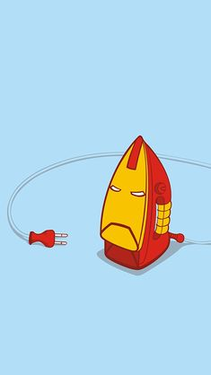 Minimal Ironman V - mobile9 iPhone 5 wallpaper #download here >> http://m9.my/go/nfp
