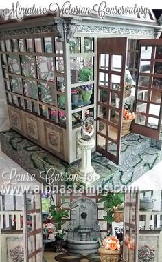 Alpha Stamps News » Miniature Conservatory! New FLASH SALE on Buttons!