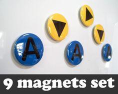 Ocarina Of Time Fridge Magnets