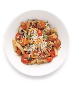 Pasta With Chicken and Mushrooms recipe