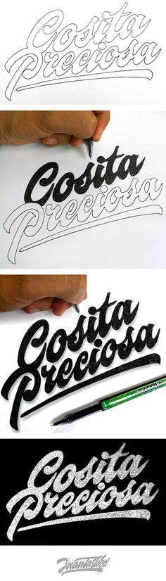 Typography Illustrations Vol.1 on Behance