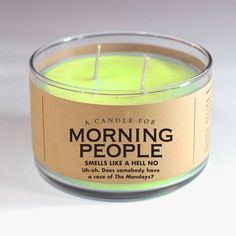 Smells like a hell no. Everyone knows I love mornings. Especially when they start after two, two-thirty in the afternoon. That way I can combine breakfast, lunch, and dinner into one healthy tomato sm