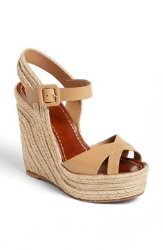 Valentino 'St. Tropez' Espadrille Wedge Sandal available at #Nordstrom
