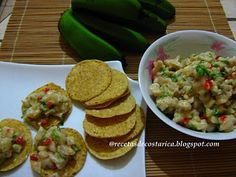 Cocina Costarricense: ceviche de banano verde