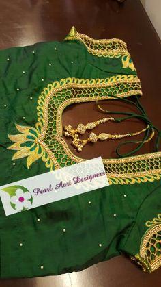 Tamil wedding bridal blouse #indiansilksaree #pearlaaridesigners #southindian #wedding