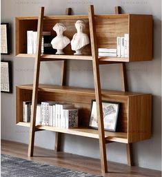 Nordic Creative bookshelf Shelves solid wood bookshelf Cabinets Modern simple di… – Top Of The World Solid Wood Bookshelf, Simple Bookshelf, Creative Bookshelves, Wood Bookshelves, Bookshelf Design, Bookshelf Ideas, Modern Bookshelf, Bookshelf Styling, Bookcase
