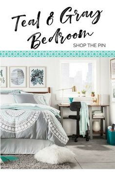 30 best teal gray bedroom images house decorations bed room rh pinterest com