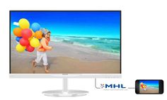 "Monitor Philips 23"" AH-IPS 234E5QHAW/00 HDMI MHL głośniki"