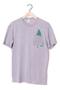 Evergreen Pocket Tee Grey