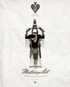 Cool motorcycle poster