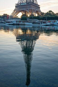 Post sunrise reflection