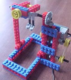 acrobat - gymnast (can be hooked up to wedo motor)