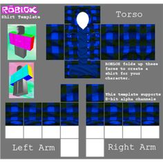 roblox free clothes template
