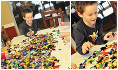 Lego Party: Easy, with activity ideas