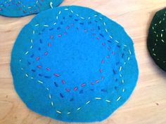 Third Grade Embroidery