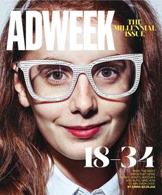 "Adweek ""The Millenial Issue"" cover, Oct. 2014"