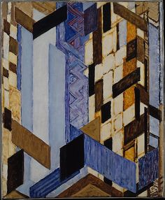 František Kupka   Vertical and Diagonal PlanesbyFrantišek Kupka (Czech, Opočno 1871–1957 Paris)