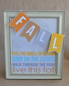 @Mique Provost  30daysblog Fall Quote 8x10 free printable