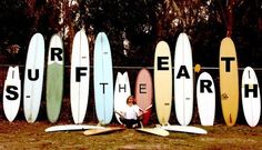 Surf the earth...