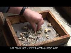 Gem Mountain Gem Mining Experience in Spruce Pine NC