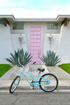 CA – Pink door at 1100 East Sierra Way @ Silverado Circle, Palm Springs, Riverside county, California, USA. https://www.google.ca/maps/place/1100+E+Sierra+Way,+Palm+Springs,+CA+92264,+USA/@33.7939666,-116.5432102,15z/data=!4m5!3m4!1s0x80db1b40e3fb7e5d:0xba6723538f2c2ba!8m2!3d33.793965!4d-116.534776
