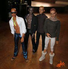 Collecting Fashion Dolls by Terri Gold: Bobby Jones aka SonofEllis, Artist